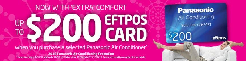 PANASONIC EFTPOS CARD