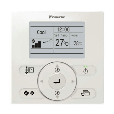 Air conditioner controller settings