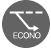 Daikin DTXF-T remote control econo mode air conditioner