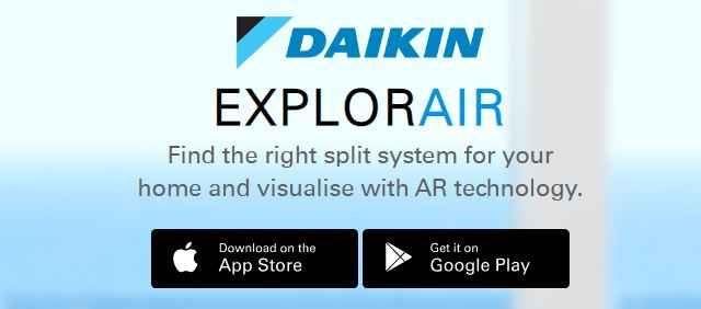 Download Daikin ExplorAir app
