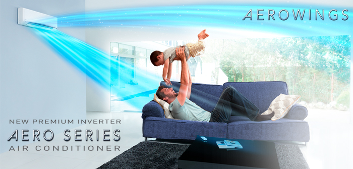 Panasonic Aerowings air conditioner technology